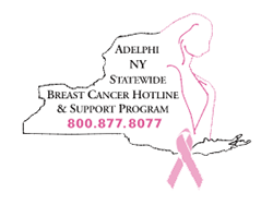 Adelphi NY Statewide Breast Cancer Hotline and Support Program Logo
