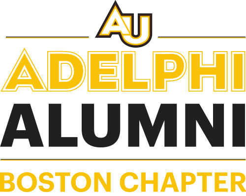 Adelphi University Alumni Boston Chapter Logo