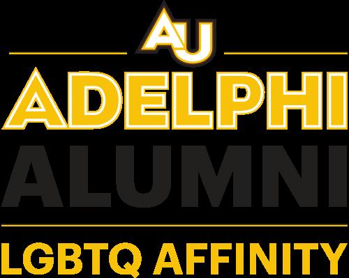 Adelphi University Alumni Logo LGBTQ Affinity Chapter