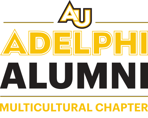 Adelphi University Alumni Logo Multicultural Chapter